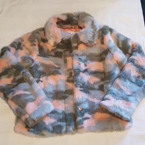 Epic Threads size large pink and grey jacket